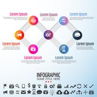 Infografiken Design-Elemente