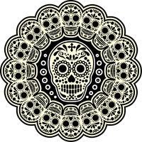 mexikanischer Zuckerschädel