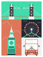 Erstaunliche London-Vektoren vektor
