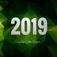 Bunter Feierhintergrund des guten Rutsch ins Neue Jahr 2019