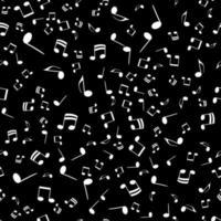 Musiknoten nahtlose Hintergrundmuster. Vektor-Illustration vektor