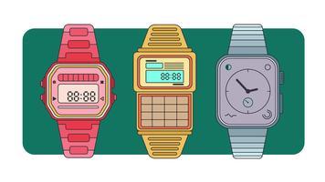 Armbandsur Vector