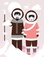 Eskimos-Vektor