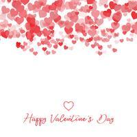 Dekorativer Valentinstagherzhintergrund