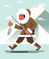 Eskimos-Illustration