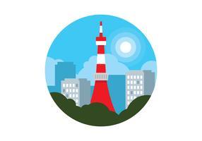 tokyo tornet vektor
