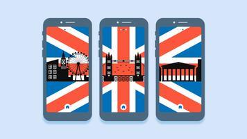 Erstaunliche London-Vektoren