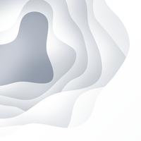 White Paper Cut Background vektor