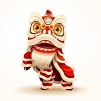 Chinese New Year Lion Dance vektor