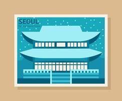 Seoul Illustration