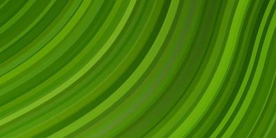 hellgrünes, gelbes Vektorlayout mit Kreisbogen. Illustration im Halbtonstil mit Farbverlaufskurven. Muster für Broschüren, Broschüren. vektor