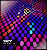 Disco Dotted Background, graphic illustratin vector
