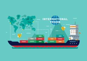 Internationell verksamhet Vector
