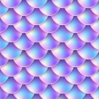 Meerjungfrau Schwanz Pastell Hintergrund vektor