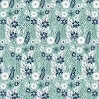 vektor blommigt sömlöst mönster