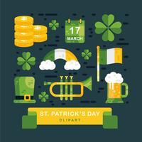 St.Patrick's Clipart Vector