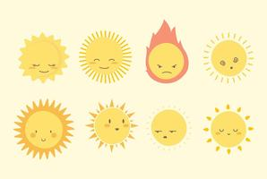 Sun ClipArt-Sammlung