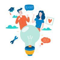 Idee, Bildung und Denken