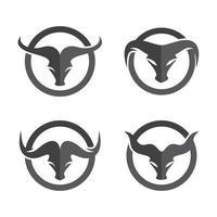 Stierkopf-Logo-Bilder vektor