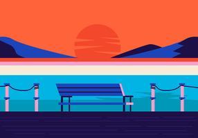Ozean-Hintergrund