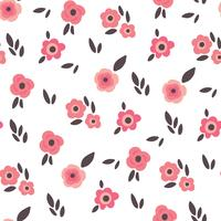 Sweet and Delicate Floral Background vektor