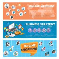 Illustration des grafischen Geschäftskonzeptes der Informationen in der isometrischen Grafik 3d