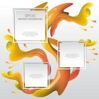 Wasser Hintergrund Spritzen Hintergrund Design-Vorlage
