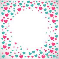 Valentines bakgrund Designmall, Vektorillustration, flygblad, Bakgrund