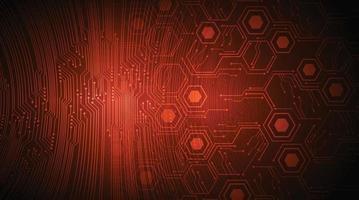 Cyber Circuit Future Technology Konzept Hintergrund vektor