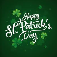 Glad St. Patrick daghälsningar vektor