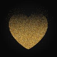 Stipple hjärta bakgrund vektor