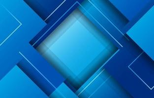 dynamischer futuristischer blauer Hintergrund mit frischem Farbverlauf vektor