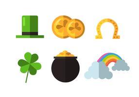 St Patrick's Day Clipart Set