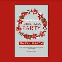 Weihnachten Flyer Vorlage
