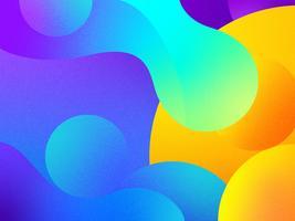 Abstrakter flüssiger Hintergrund