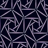 Vektor buntes nahtloses Muster mit Halogen- oder LED-Lichtlampen. Verwenden Sie es für Tapeten, Textildruck, Musterfüllungen, Web, Oberflächenstruktur, Geschenkpapier, Präsentationsdesign