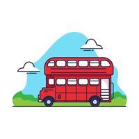 London buss vektor