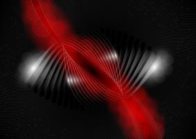 Abstrakt röd och svart bakgrund, vektor illustration