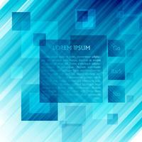 Blaue Vektorschablone für Web, Vektor