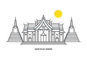 großer Palast vektor