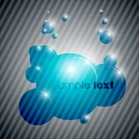 Färgglada bubbla bakgrund eps10 vektor