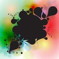 Färgrik abstrakt bakgrund vektor