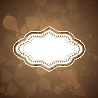 Design des Vektors des Weinleseaufkleber eps10