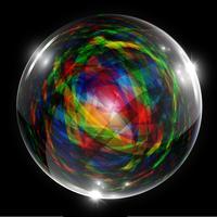 Abstrakte vektorblase