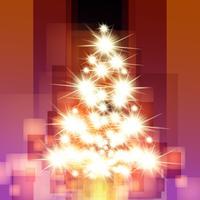 Jul vektor träd