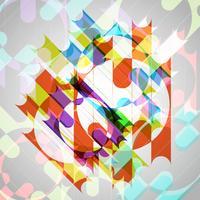 Abstrakt färgrik eps10 vektor bakgrund