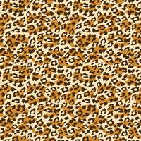 Leopard nahtloser Hintergrund. Vektor-Illustration