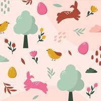 Ostern Wallpaper Vektor