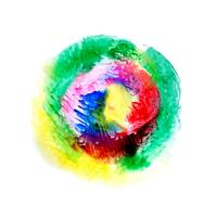 Abstrakt färgrik akvarell bakgrund