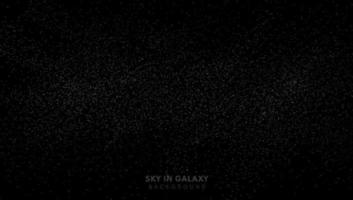 Sternenstaub im schwarzen Universum, Milchstraße, Sternenuniversumshintergrund. Sie können für Cover, Poster, Web, Flyer, Landing Page, Printanzeige verwenden. vektor